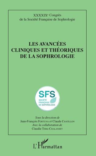 Couverture Les avancées cliniques et théoriques de la sophrologie