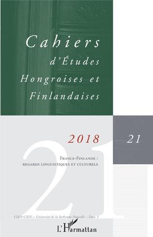 Couverture France - Finlande : regards linguistiques et culturels