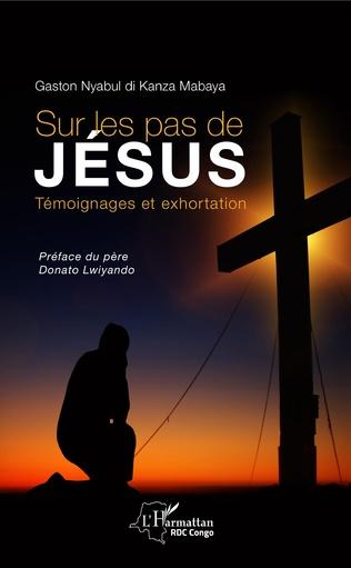 Couverture Sur les pas de Jésus