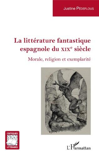 Couverture La littérature fantastique espagnole du XIXe siècle
