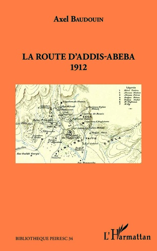 Couverture La route d'Addis-Abeba