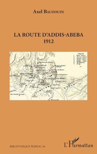 Couverture La route d'Addis-Abeba