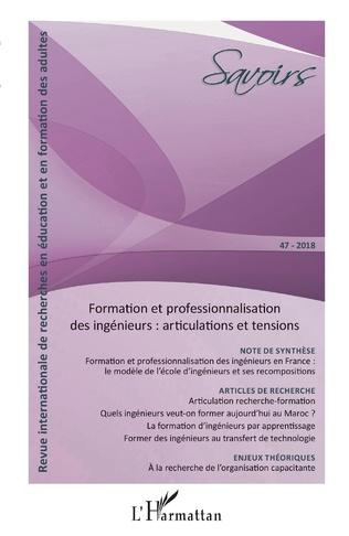 Couverture Formation et professionnalisation des ingénieurs : articulations et tensions