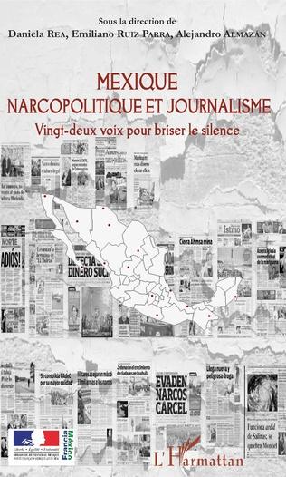 Couverture Mexique narcopolitique et journalisme