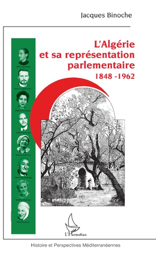 Couverture L'Algérie et sa représentation parlementaire