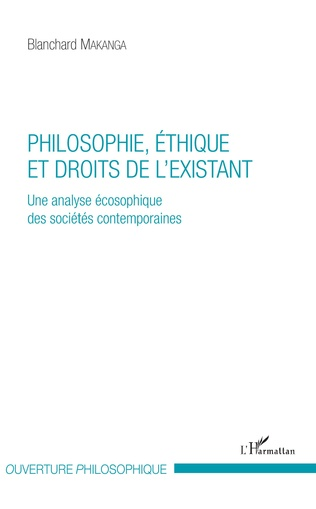 Couverture Philosophie, éthique et droits de l'existant