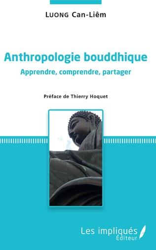 Couverture Anthropologie bouddhique