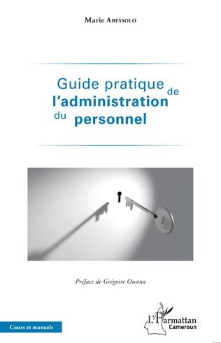 Couverture Guide pratique de l'administration du personnel