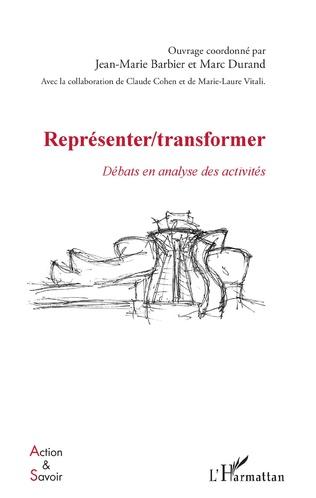 Couverture Représenter / Transformer