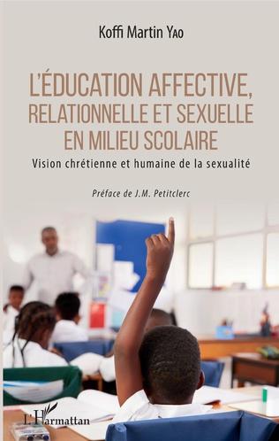 Couverture L'éducation affective, relationnelle et sexuelle en milieu scolaire