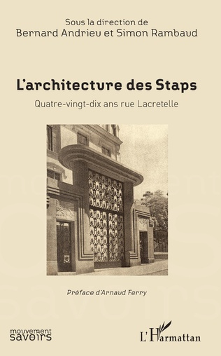 Couverture L'Architecture des Staps