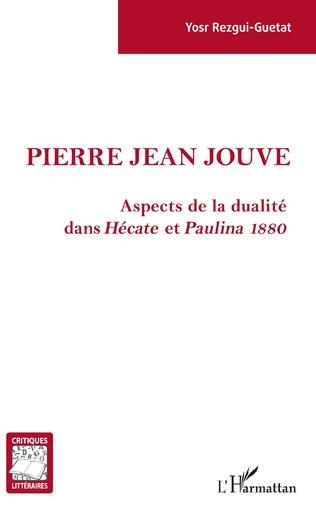 Couverture Pierre Jean Jouve