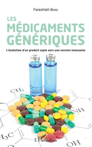 Couverture Les médicaments génériques