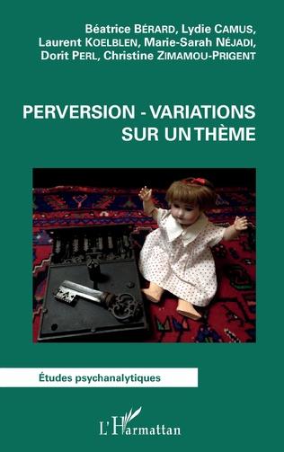Couverture Perversion - Variations sur un thème