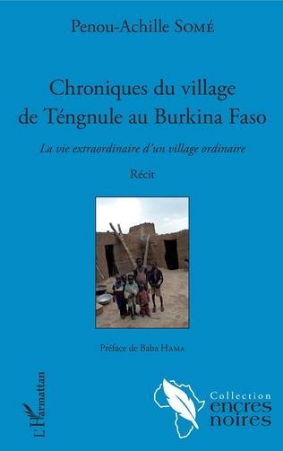 Couverture Chroniques du village de Tengnule au Burkina Faso