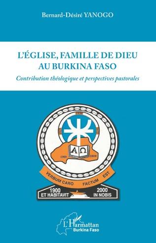 Couverture L'Eglise, famille, de dieu au Burkina Faso