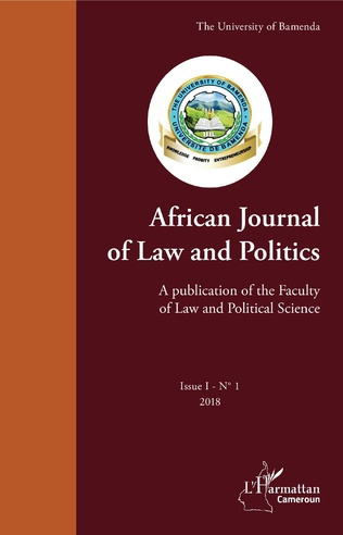 Couverture African Journal of Law and Politics