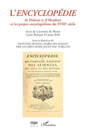 Couverture L'Encyclopédie de Diderot et d'Alembert