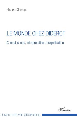 Couverture Le monde chez Diderot