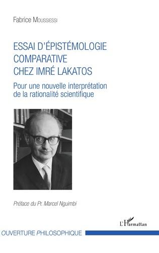 Couverture Essai d'épistémologie comparative chez Imré Lakatos