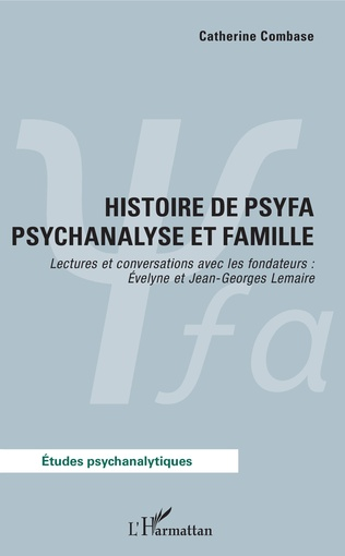 Couverture Histoire de psyfa psychanalyse et famille