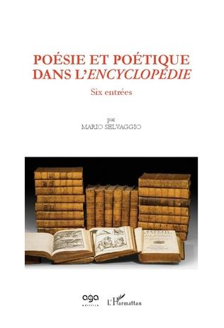 Couverture Poésie et poétique dans l'Encyclopédie