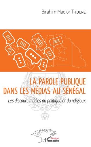 Couverture La parole publique dans les médias au Sénégal