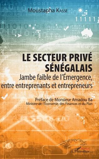 Couverture Le secteur privé sénégalais