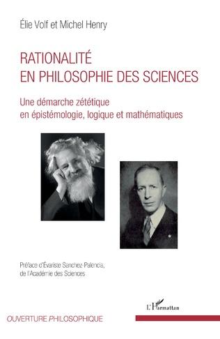 Couverture Rationalité en philosophie des sciences