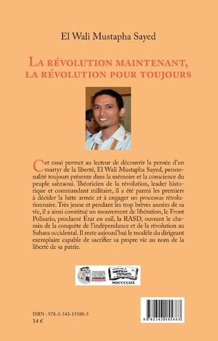 Couverture La révolution maintenant, la révolution pour toujours (en arabe)