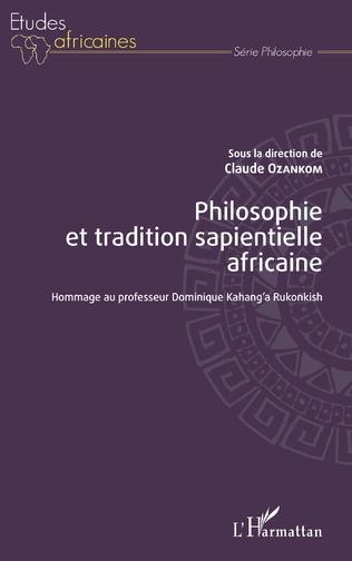 Couverture Philosophie et tradition sapientielle africaine