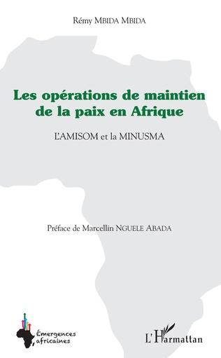 Couverture Les opérations de maintien de la paix en Afrique