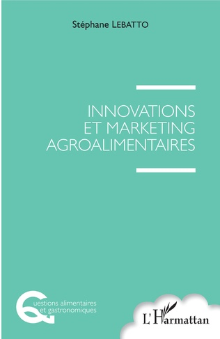 Couverture Innovations et marketing agroalimentaires