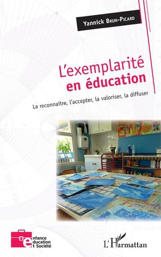 Couverture L'exemplarité en éducation