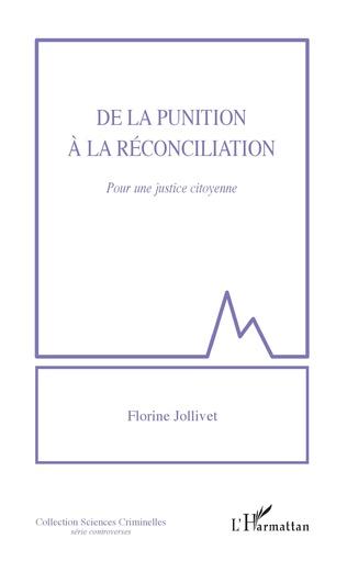 Couverture De la punition à la réconciliation