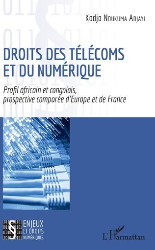 Couverture Droits des télécoms et du numérique