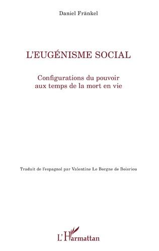 Couverture L'eugénisme social