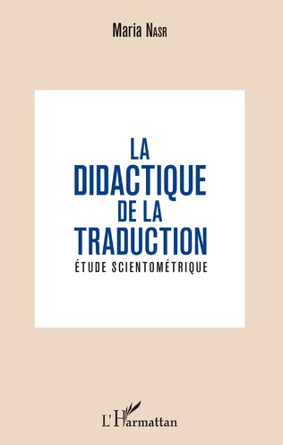 Couverture La didactique de la traduction