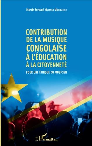 Couverture Contribution de la musique congolaise à l'éducation à la citoyenneté