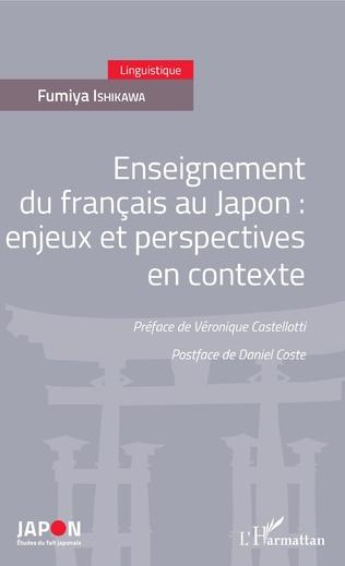 Couverture Enseignement du français au Japon