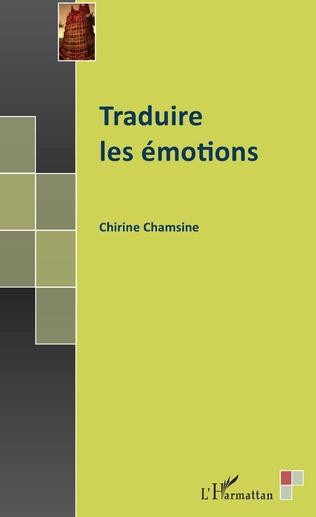 Couverture Traduire les émotions