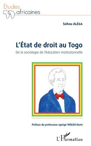 Couverture L'état de droit au Togo