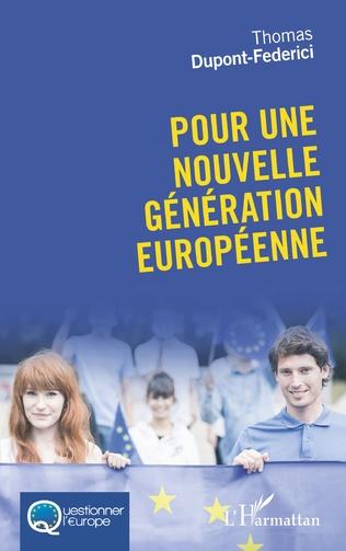 Couverture Pour une nouvelle génération européenne