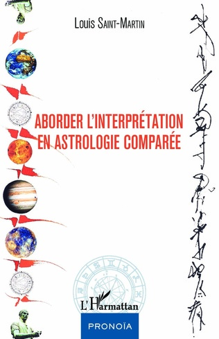 Couverture Aborder l'interprétation en astrologie comparée