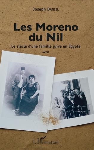 Couverture Les Moreno du Nil