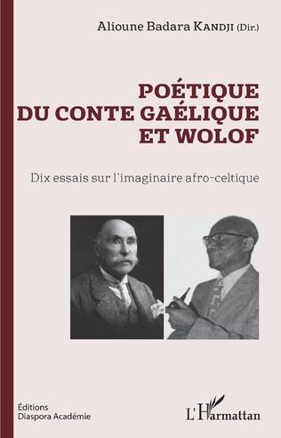 Couverture Poétique du conte gaélique et wolof