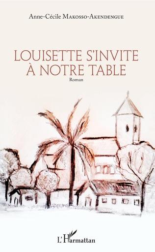 Couverture Louisette s'invite à notre table