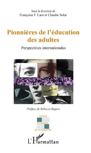 Couverture Pionnières de l'éducation des adultes