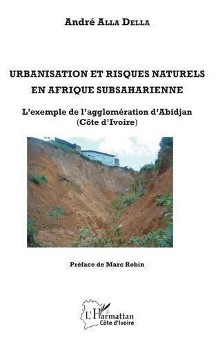 Couverture Urbanisation et risques naturels en Afrique subsaharienne