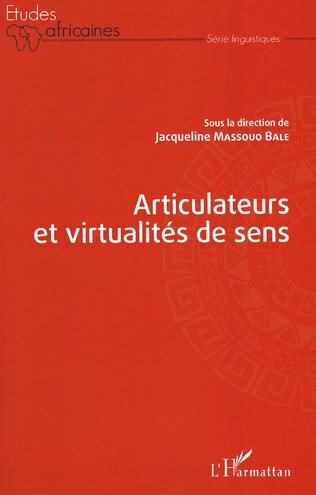 Couverture Articulateurs et virtualités de sens